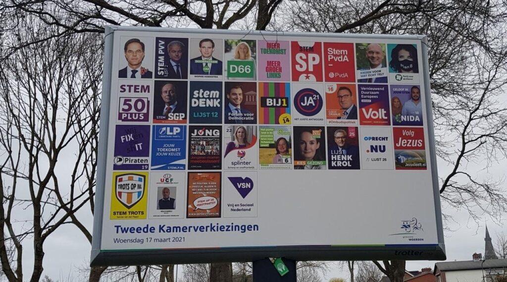 Verkiezing 2021 groen stemadvies h2ruimte